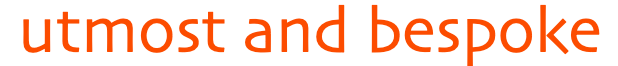 Utmost and Bespoke Logo